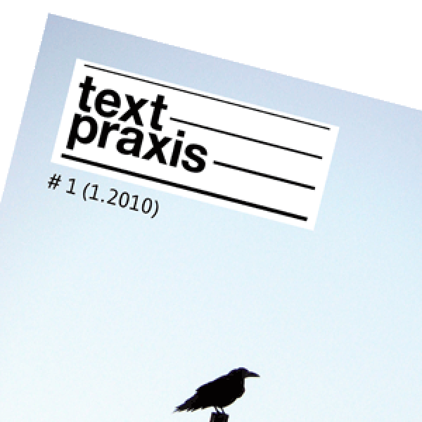 Textpraxis-Cover
